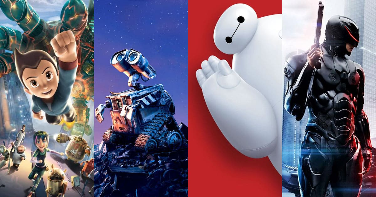 Cool robot movies